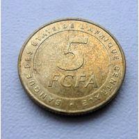 5 франков Центральная Африка 2006 года - из коллекции