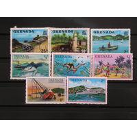 Гренада, 8 разных марок