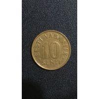 Эстония 10 сентов, 1998