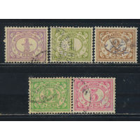 NL Колонии Нидерландская Индия (Индонезия) 1912 Номинал Стандарт #107-10,113