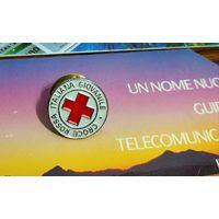 Значок Красный Крест -Италия