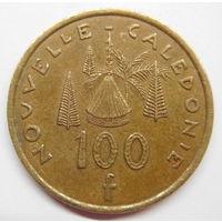 Новая Каледония 100 франков 2004 г