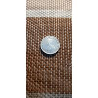 Цейлон 25 центов 1913