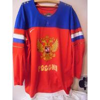 Джерси сборной России с чм-2014 по хоккею в Минске