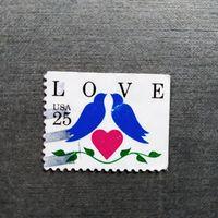 Марка США 1990 год