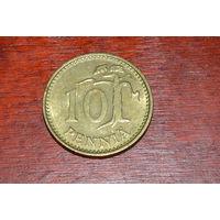 Финляндия 10 пенни 1976
