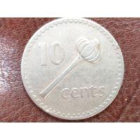10 центов 1975 Фиджи