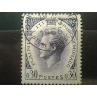 Монако 1960 князь Ренье 3  0,3фр