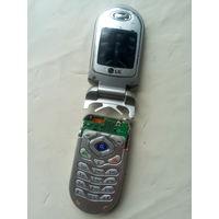 Телефон LG раскладушка на запчасти