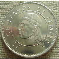 50 сентаво 2005 Гондурас
