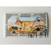 Монголия 1986. Животные под защитой. Сайгак