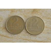 Уругвай 2 песо 1994