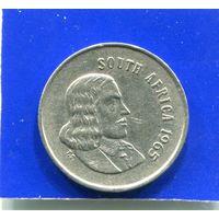ЮАР , Южная Африка 5 центов 1965 , South Africa