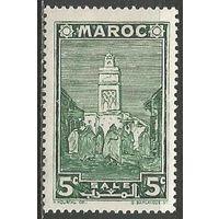 Французское Марокко. Город Сале. 1939г. Mi#142.