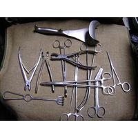 Дрель хирургическая  Лэнд-лиз 2МВ Варшав Индиана США ,ампутационная ножовка и пр.