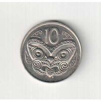 10 центов 1988 года Новой Зеландии 24