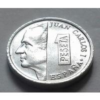 1 песета, Испания 1992 г., AU