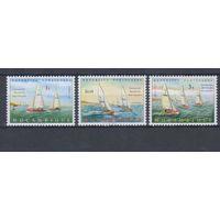 [1614] Мозамбик 1973. Спорт.Парусники,яхты.