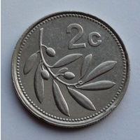 Мальта 2 цента. 1995