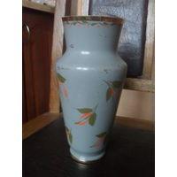 Алюминиевая вазочка. 23 см.