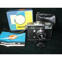 Фотоаппарат Чайка 3, с документами и с коробкой