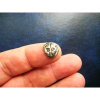 Пантикопей - вторая половина 6 века до н.э. Серебро.  Вес 1,4 гр.