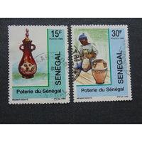 Сенегал 1989г. Искусство.