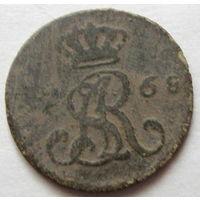 Полугрош 1768 г.R