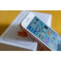 "Apple iPhone 6s 16GB Apple iOS, экран 4.7"" IPS (750x1334), Apple A9, ОЗУ 2 ГБ, флэш-память 16 ГБ, камера 12 Мп, аккумулятор 1715 мАч, 1 SIM, цвет розовый, очень хорошее состояние, не реф, отпечаток ра"