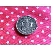 Ямайка. 1 доллар 2008. (2).