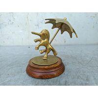 Винтажная бронзовая статуэтка Unicorn. Сделано в США. Дизайн, декор, интерьер, коллекционирование, обмен.