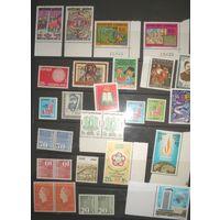 Старт с 1 коп. Подборка красивых марок всего мира**. 45 марок. 18 стран (см. описание). Уйдет за конечную цену!