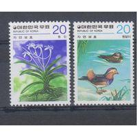 [205] Юж. Корея 1979.Фауна.Птицы.