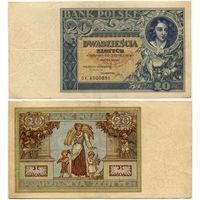 20 злотых 1931, Польша, Bank Polski