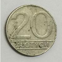 Польша, 20 злотых 1990