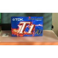 Новая запечатанная кассета TDK T1-90EA