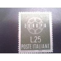 Италия 1959 Европа