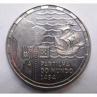 Португалия 200 эскудо 1994 г. Разделение мира.