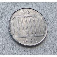 Аргентина 1000 аустралей, 1990 7-14-5