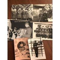Лот фото - советская армия - СССР - 1960-80-е - цена за все!