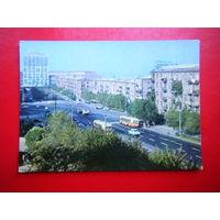 Открытка 1974г. Ереван. Улица Комитаса.