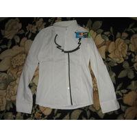 Новая школьная блузка 134-140