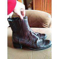 Ботинки сапоги стиль Италии р.39