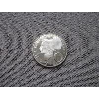 Австрия 10 шиллингов 1969 (56)