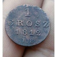 1 грош 1812 г