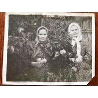 Фото бабаушки, Западная Беларусь, 1955 год