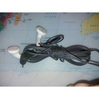 Наушники HS-7 с микрофоном и переключателем, от nokia 6030, разъем 2,5 мм. Рабочие. Подходят к большинству нокий и телефонов с разъемом 2,5 мм