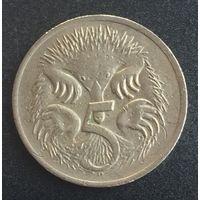 Австралия, 5 центов 1977