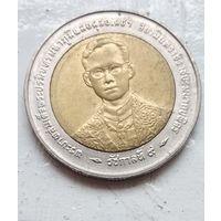 Таиланд 10 бат, 1996 50 лет правления Короля Рамы IX 5-4-23