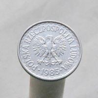 Польша 1 злотый 1985